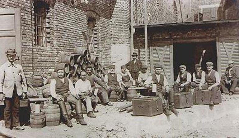Handwerks Brauerei frühes 20 jJahrhundert