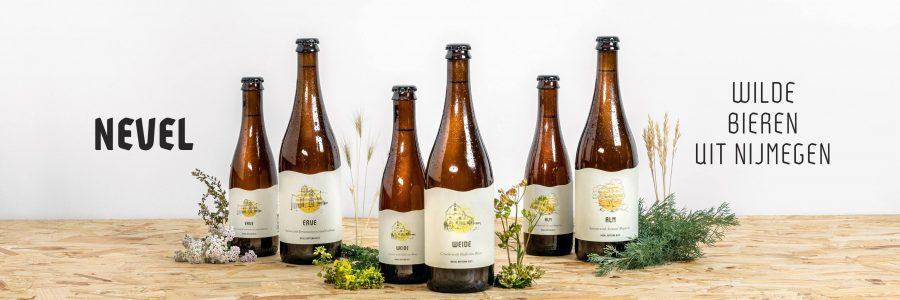 Einige Biere von Nevel